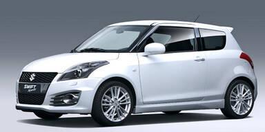 Weltpremiere des Suzuki Swift Sport 2.0