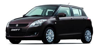 Start für den Suzuki Swift