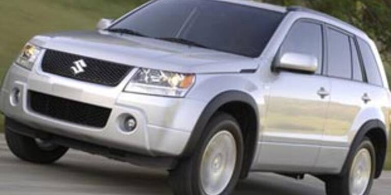 Suzuki ruft 300 Grand Vitara zurück
