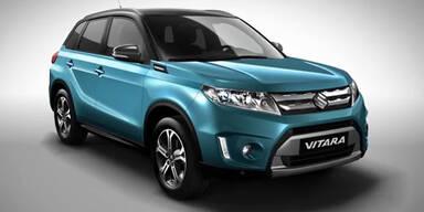 Suzuki zeigt den neuen Vitara