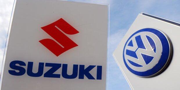 Suzuki/VW-Streit wird zum Rosenkrieg