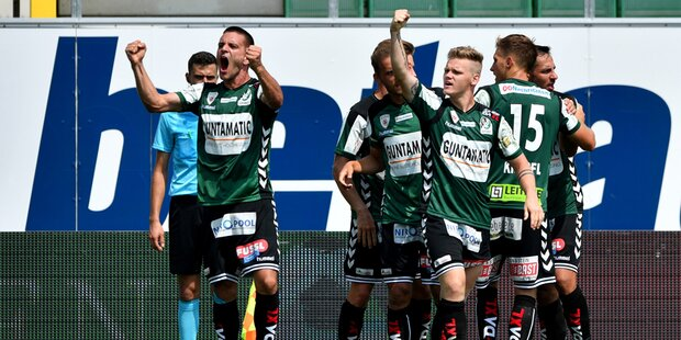 SV Ried siegte in 2. Liga gegen Wattens