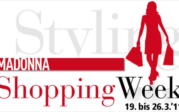 19 bis 26 m rz 2011 madonna shopping week. Black Bedroom Furniture Sets. Home Design Ideas