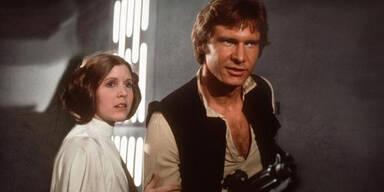 Han Solo und Leia hatten heiße Affäre