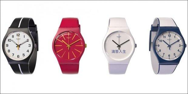 Swatch bringt 80 Euro