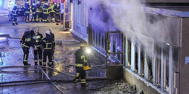 Brandanschlag auf Moschee in Schweden