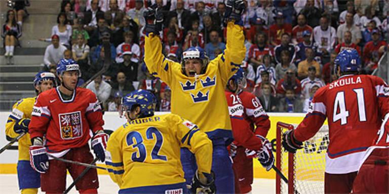 Schweden und Finnland bestreiten WM-Finale