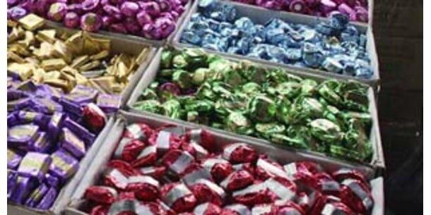 Süßigkeiten in Österreich fast am günstigen in EU
