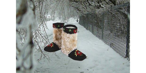 Walenki: Der letzte Schrei an warmen Füßen