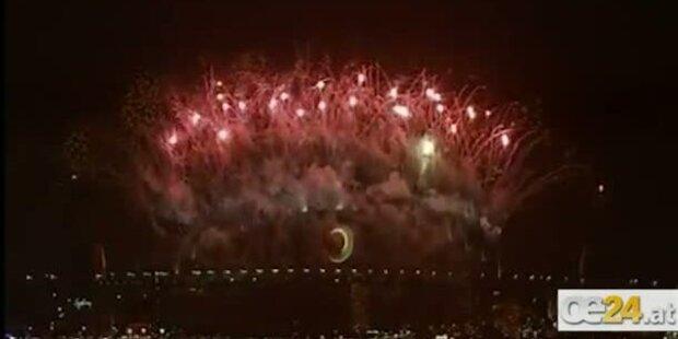 Sydney: Bombastischer Start ins neue Jahr