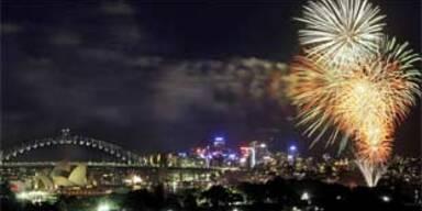 So wurde das neue Jahr rund um den Globus begrüßt