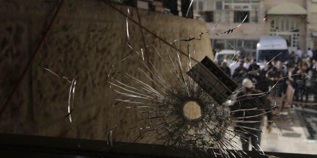 Axt-Attentat in Synagoge