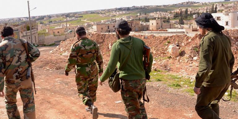Syrisches Feuer auf israelische Soldaten