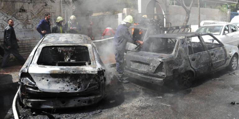 Mehrere Tote bei Bombenanschlag in Damaskus