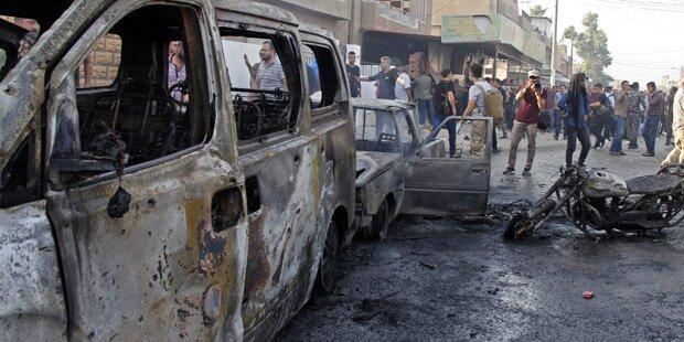 IS bekennt sich zu Autobombenanschlag in Qamishli