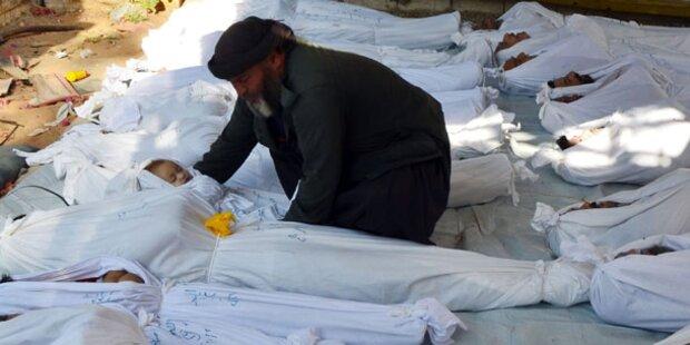 Syrien: Frankreich droht mit Angriff