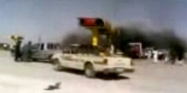 Syrien: Luftangriff auf Tankstelle