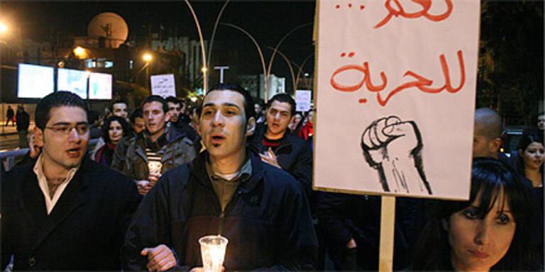 Sechs Demonstranten in Syrien erschossen