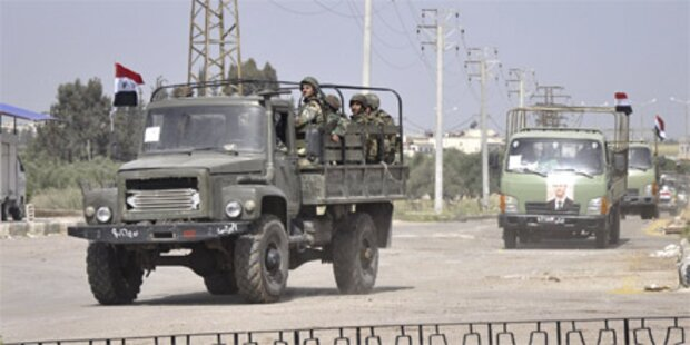 Syrien: Armee stürmt Küstenstadt