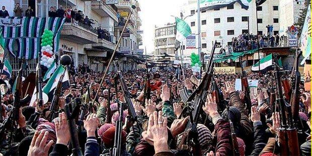 Syrien: Arabische Liga fordert UNO-Blauhelme