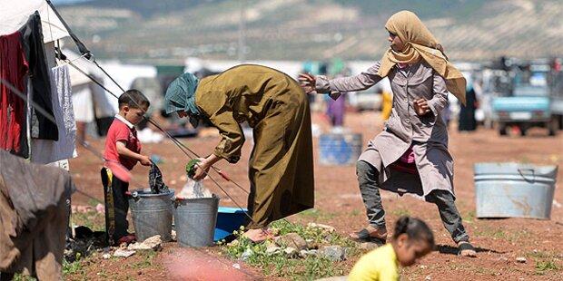 Syrien-Flüchtlinge müssen warten