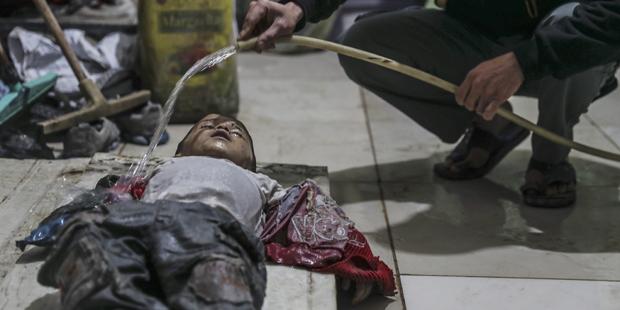 Wieder Chemiewaffenangriff auf Ghouta