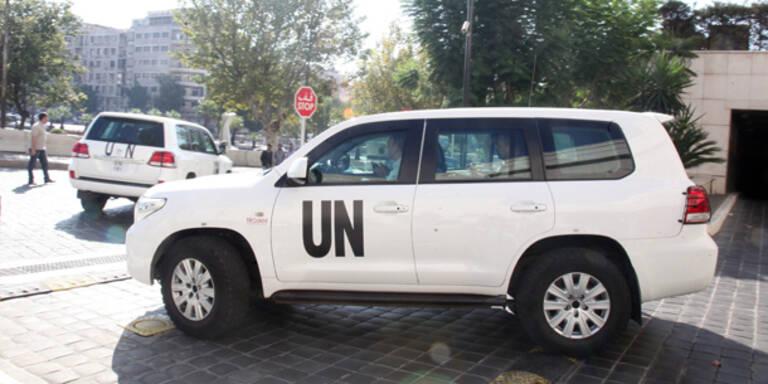 Erste C-Waffen in Syrien zerstört