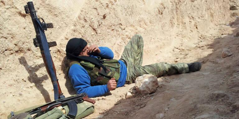 Syrien: Aufhebung des Waffenembargos fraglich
