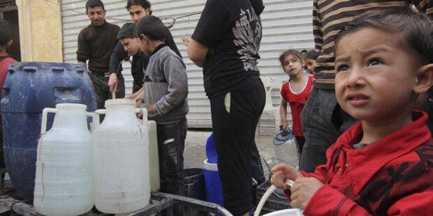Ein Viertel der Syrer auf der Flucht