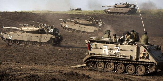 15 Soldaten bei Angriffen Israels getötet