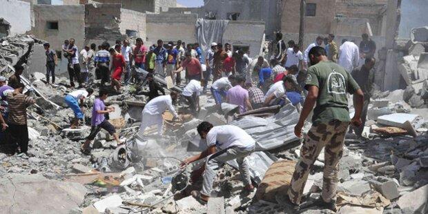 30 Tote bei Luftangriffen in Syrien