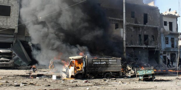 44 Tote bei Luftangriffen auf Rebellenviertel