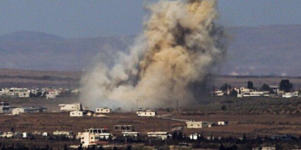 Fast 200 Tote bei Kämpfen in Syrien