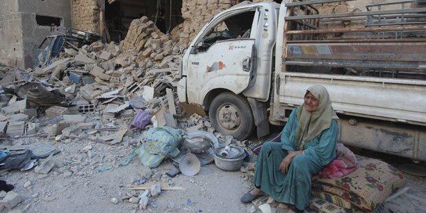 48 Tote bei syrischen Luftangriffen
