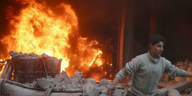 Syrien: eine halbe Million Tote
