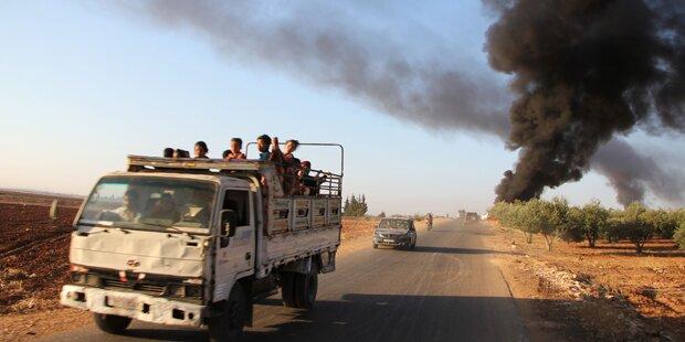 Mehr als 40 Tote bei Anschlagsserie in Syrien