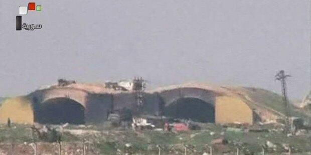 Syrien: Jets starten von bombardierter Basis zu Angriffen