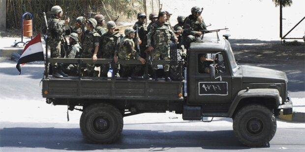 Syrische Oppositionelle gründen Union