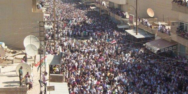 Unruhen in Syrien: Mindestens 31 Tote