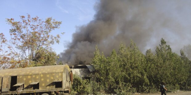 Syrien: Hinweise für Einsatz von C-Waffen