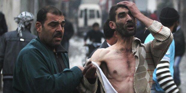 Blutiger Donnerstag in Syrien