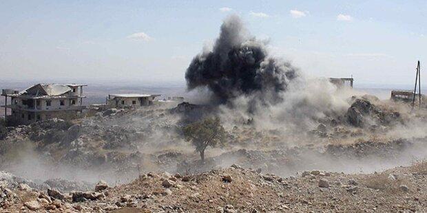 Mindestens 75 Tote bei Kämpfen in Syrien