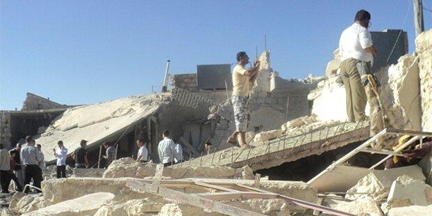 Syrien: EU fordert Kampfpausen