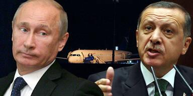 Erdogan: Flugzeug hatte Munition geladen