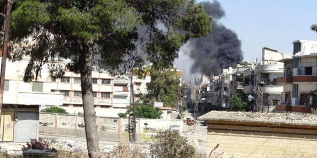 Letzte Rebellen verlassen Altstadt von Homs