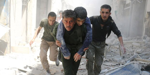 Syrien: 32 Zivilisten bei neuen Angriffen in Aleppo getötet