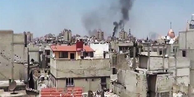 Syrien: Rebellen drohen Assad mit Eskalation