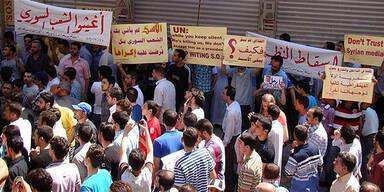 Syrien: Erneut Schüsse auf Demonstranten