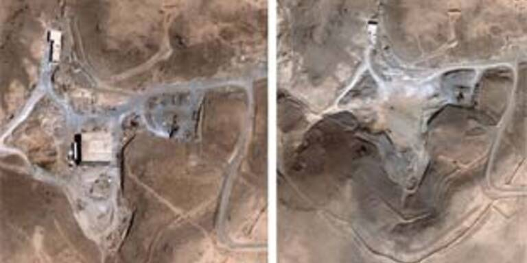 Satellitenbilder der vermeintlichen Atomanlage