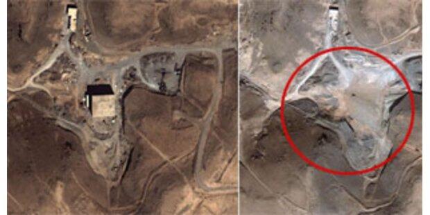 Syrien baute offenbar an Atomanlage